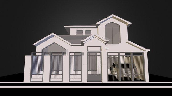 2013-01-14 RESIDENCIA AJILA LOAYZA.dae 3D Model
