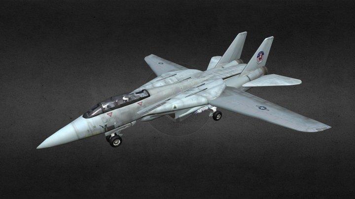 F14 Tomcat Aircraft 3D Model