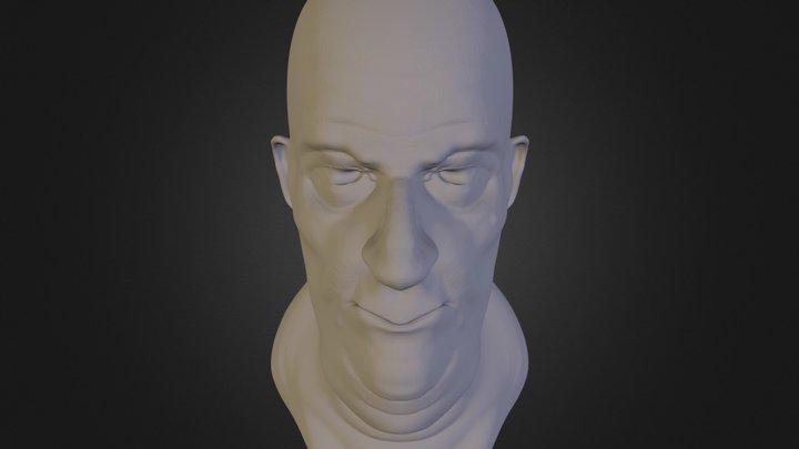 head.3ds 3D Model