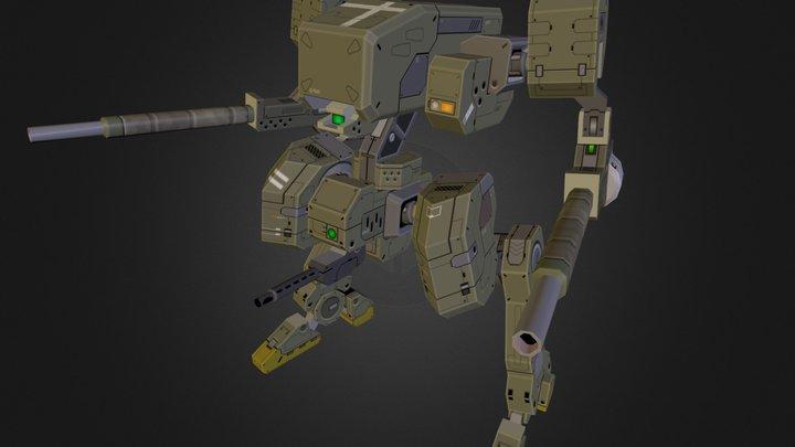 Rifle bot 3D Model