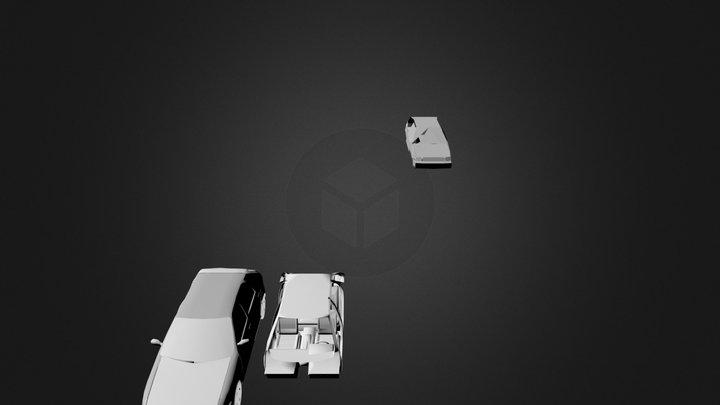citroenzx.blend 3D Model