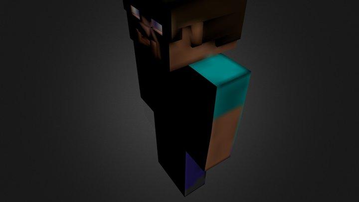 Better Steve Facial.blend 3D Model