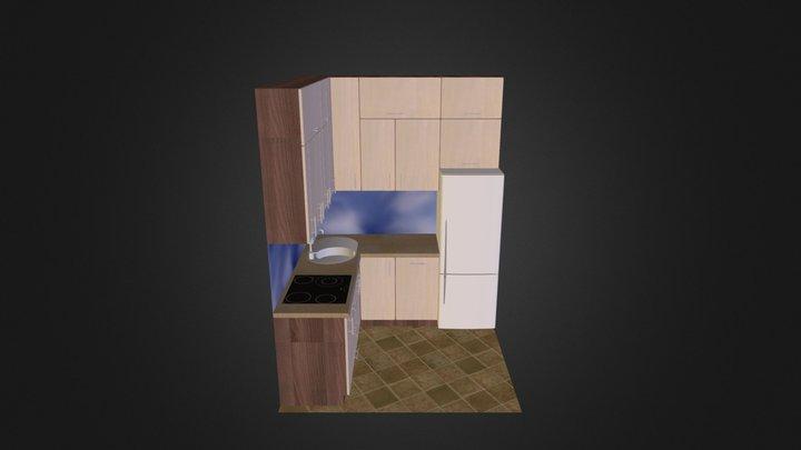 kuchnia III.kmz 3D Model