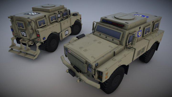 Oshkosh Alpha FBI 3D Model