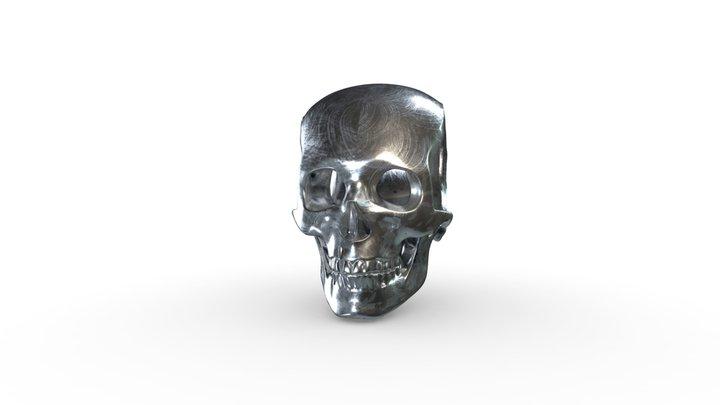 Jadium Skull 3D Model