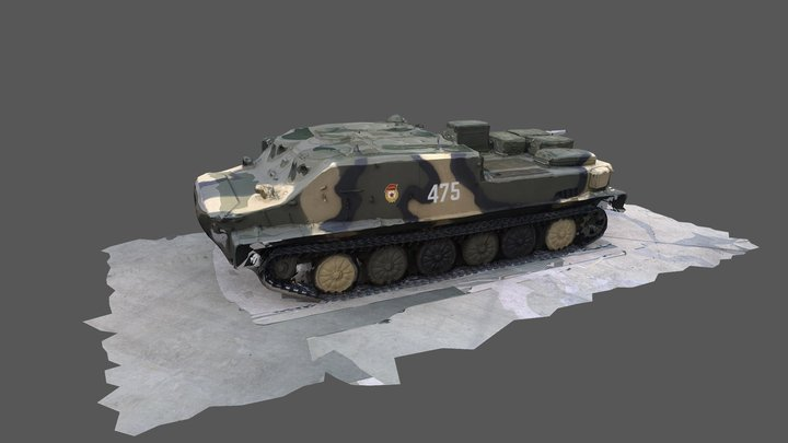 BMP 3D Model