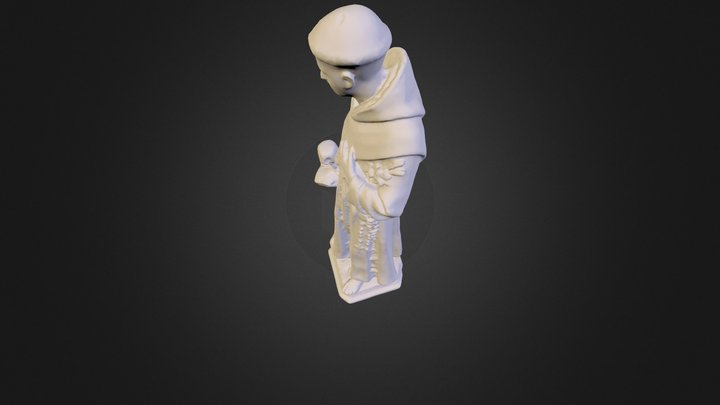 Sculpture before conservation 3D Model