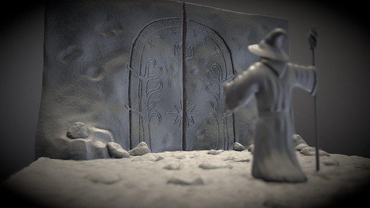 Day 5-Magic Gate (Sculpt January 2021 3D Model