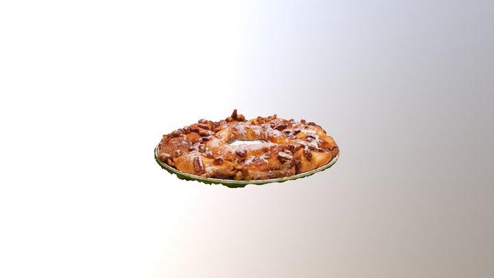 BrandXR Pecan cake - duplicated version 3D Model