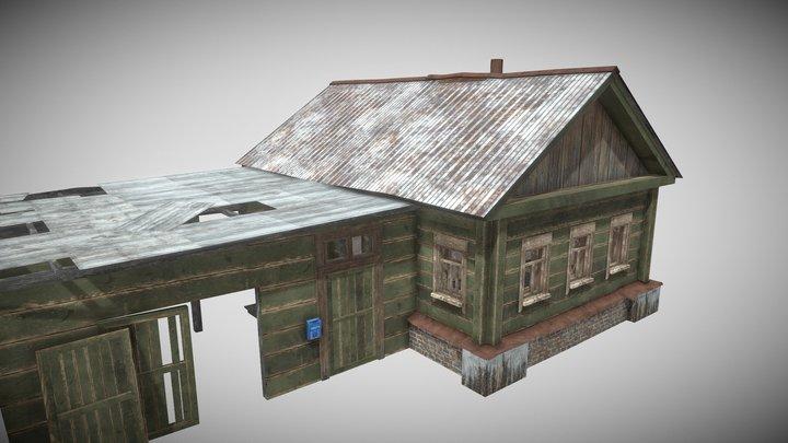 Survival Old House 04 (mobile) 3D Model