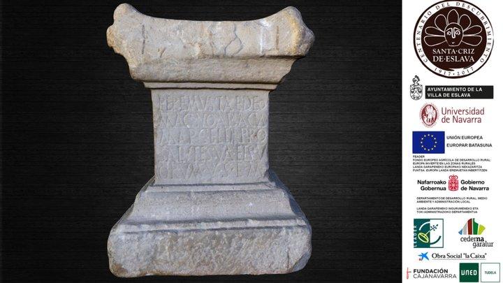 Altar a Peremusta, siglo II d. C. 3D Model