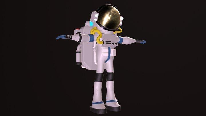 Astroneer Astronaut 3D Model