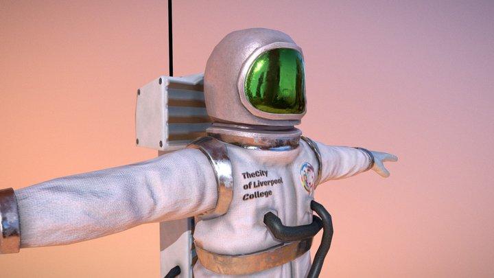 Spacesuit 3D Model