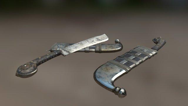 Pichangatti Knife_WIP 3D Model