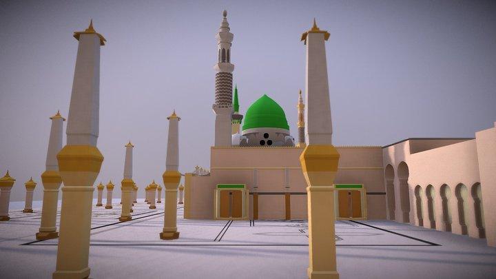 Masjid Nabawi - Madina Al Munawwara 3D Model