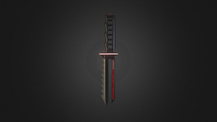 TR Snake Blade Basic 01 3D Model