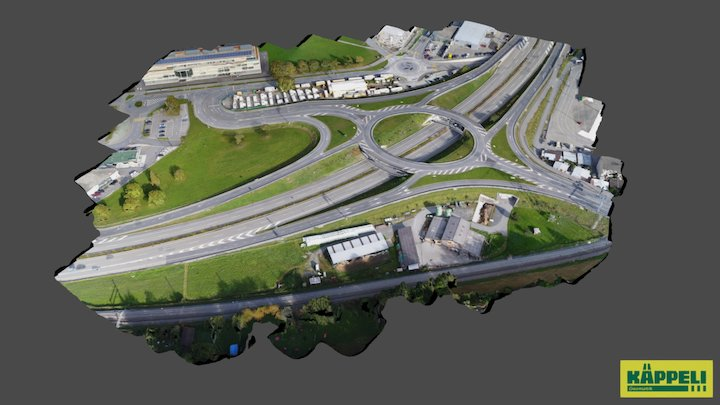 Anschluss Chur Süd 3D Model