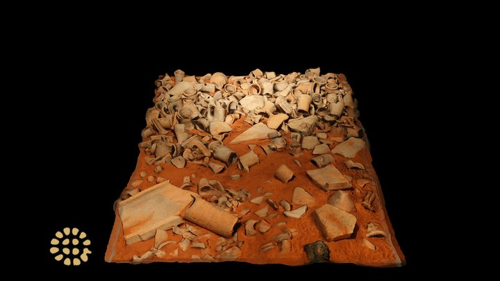 Amphoras dump, Museo Archeologico di Cecina 3D Model