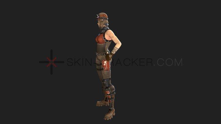 Fortnite - Renegade Raider 3D Model