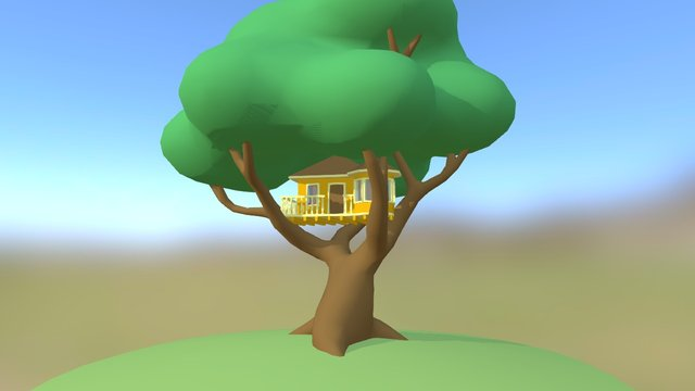 Treehouse 1.0 3D Model