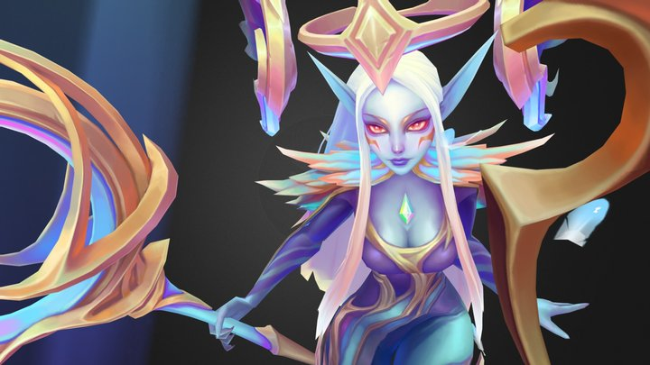 Dawn Bringer Soraka 3D Model