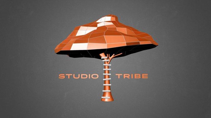 StudioTribe - Logo 3D Model