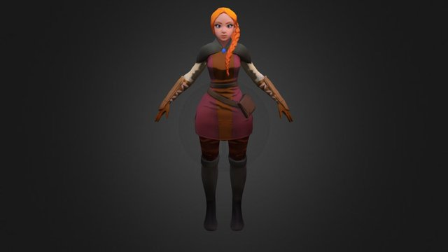 Girl132 3D Model
