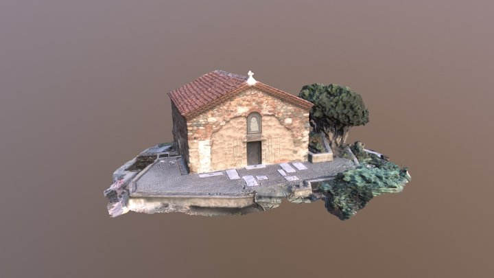 Church of St Petka of the Saddlers 3D Model