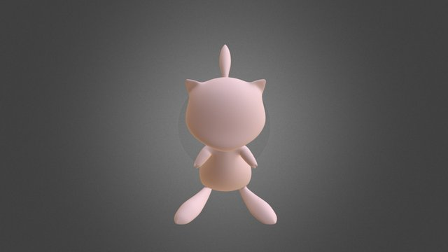 Mew (High Poly) 3D Model