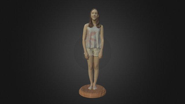 Olivia w/ Added Base 3D Model