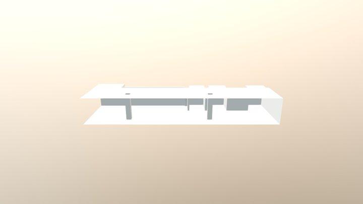 Bar Estructure 3D Model