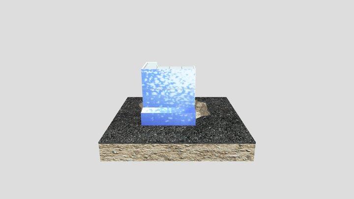 Réacteur nucléaire de Fukushima 3D Model