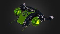 6981 Aerial Intruder 3D Model