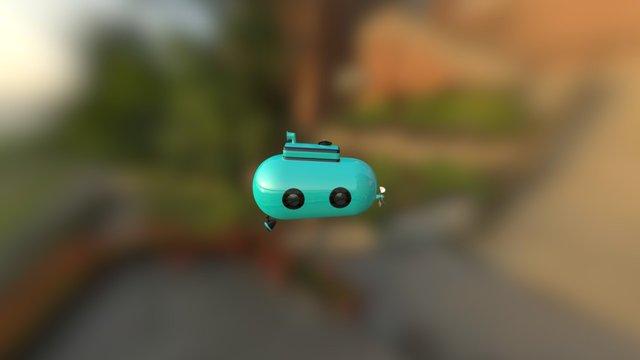 Mini Sub 3D Model