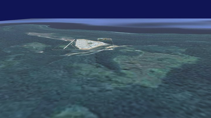 Christmas Island Immigration Detention Centre 3D Model
