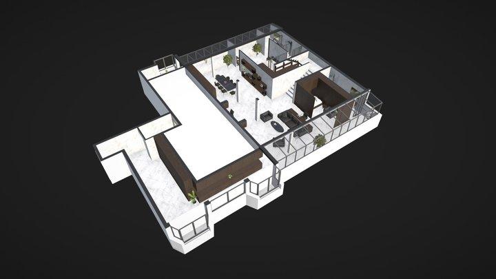 Goldstar - Loft - Niveau 1  - Version 3 3D Model