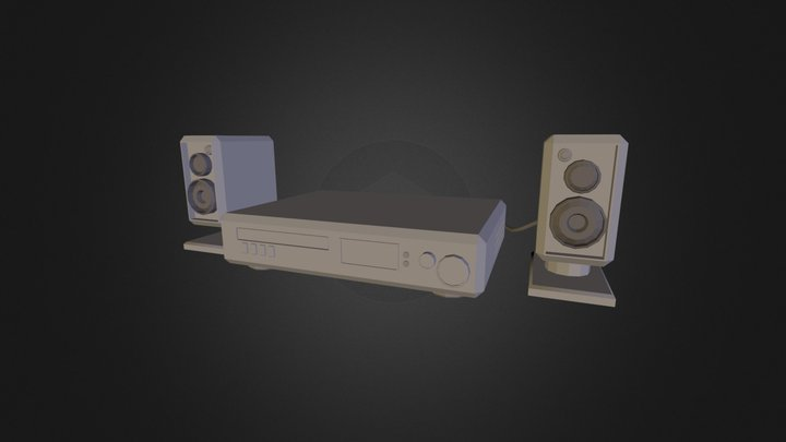 Soundsystem 3D Model