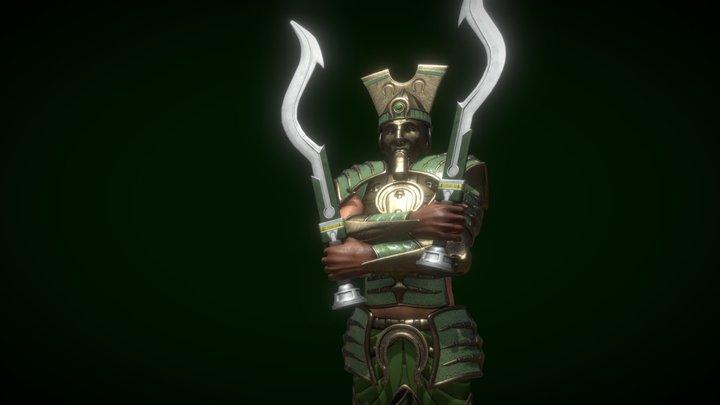 Elite Guardian 3D Model