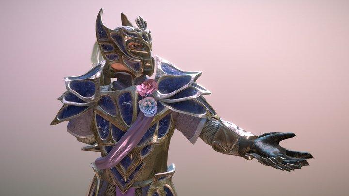 Crystal Sentinel 3D Model