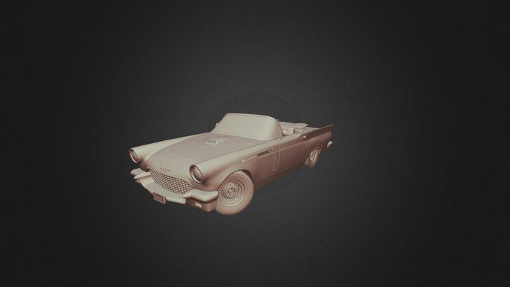 Thunderbird 1957materiales 3D Model