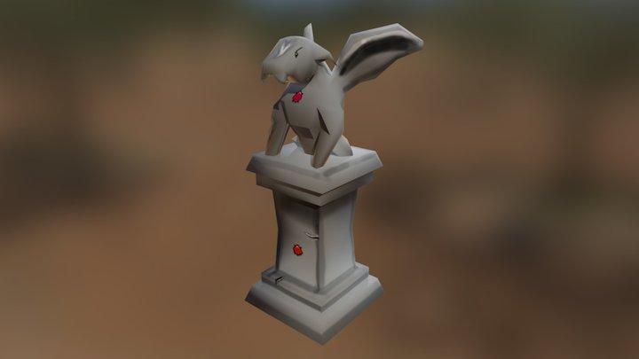 Gargoyle2 Base 3D Model