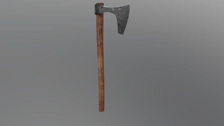 Early medieval axe from Ostrów Lednicki 3D Model