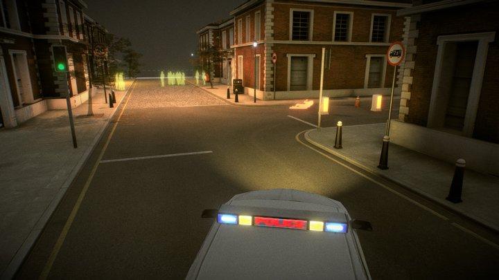 Crime Scene -  Fore Street 3D Model