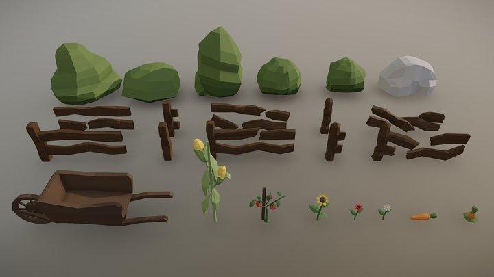 Farm Assets LP 3D Model