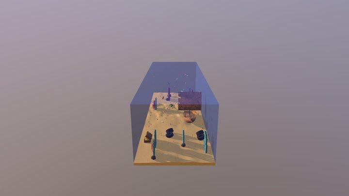 Peces de colores 3D Model