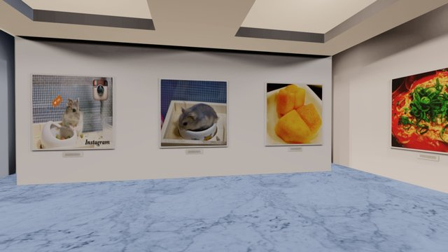 Instamuseum for @kanata_piano 3D Model