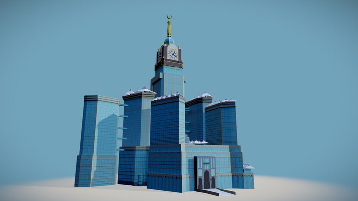 Abraj Al Bait 3D Model