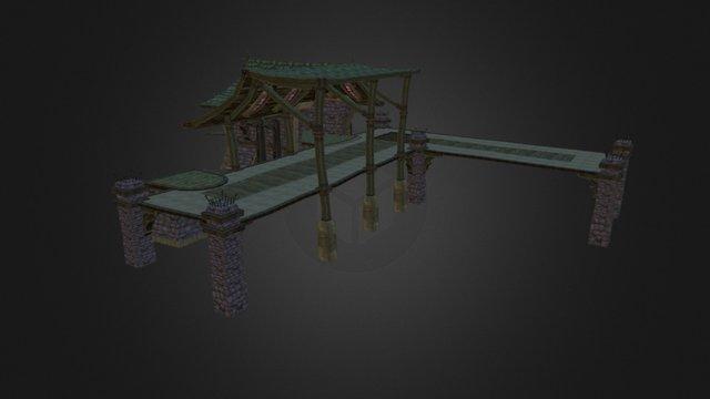 Forsaken Shipyard Model 3D Model