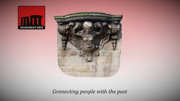 Balcony Carving (Town Hall, Leigh) 3D Model