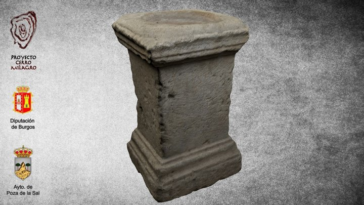 Altar romano 3D Model